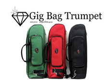 600D Water resistant Trumpet Gig font b Bag b font Oxford Cloth Adjustable Single Shoulder Strap