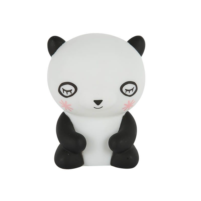 2017 Panda PVC Plastic Sleep Led Kids Lamp Bulb Nightlight for Children Baby Bedroom Lamps Night Light Cartoon Pets Lights