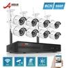 ANRAN P2P Plug Play 960P 8CH NVR WIFI Kit 36 IR Outdoor 1 3 MP Wireless