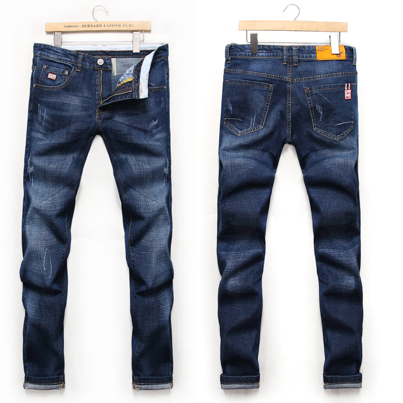 Mens Fashion Jeans 2018 High Quality Casual Jeans Stretch Cotton Jeans