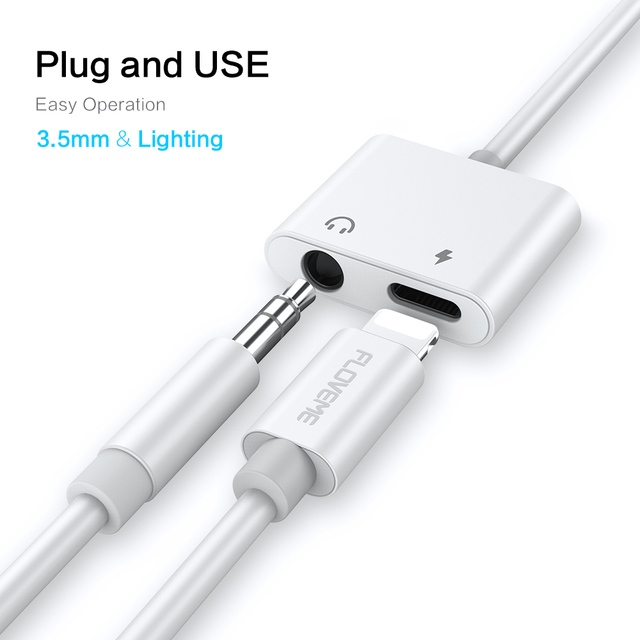 2 in 1 Adapter for iPhone