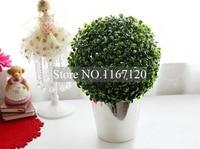 인공 식물 다듬어 볼 트리 공장 홈 야외 웨딩 이벤트 장식 28 센치메터 (HC04)