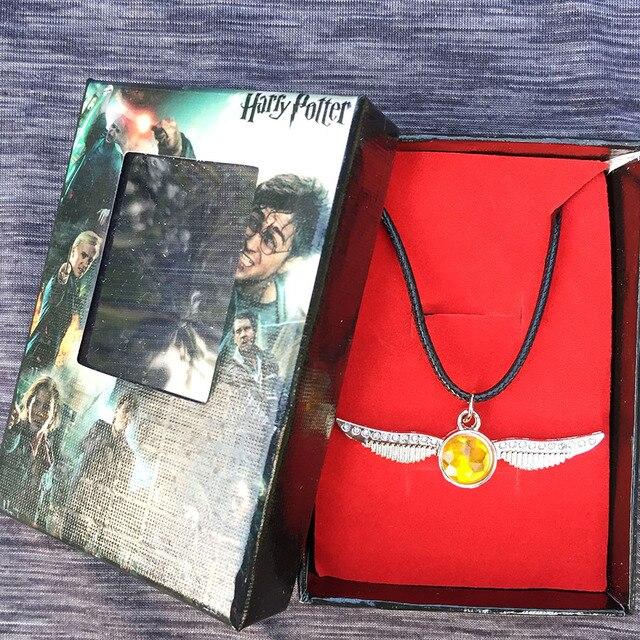 Подвеска и брелок с карабином Золотой снитч Гарри Поттер в подарочной коробке