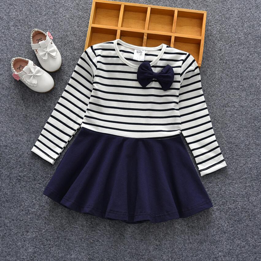 Lente meisje school jurk peuter meisje kleding kinderkleding tutu - Kinderkleding