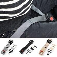 Extensor de cinturón de seguridad para embarazadas, hebilla de Clip, correa, longitud ajustable, funda de seguridad Universal para embarazadas