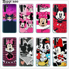Cute Minnie Mickey Cover For Samsung Galaxy A30 A50 J7 Prime S7 Edge S8 S9 S10 Plus A3 A5 A6 A8 Note 8 9 10 2017 2018 TPU Case(China)