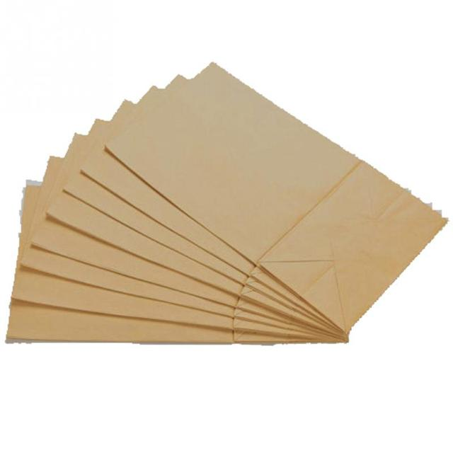 Top Quality 10pcs Lot Small Kraft Paper Gift Candy Bag Vintage Wedding Treat Brown