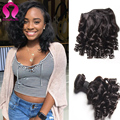8a Brazilian Virgin Hair Deep Wave Meches Bresilienne Lots 4 Bundels Deals Short Curly Weave Brazilian Virgin Curly Hair Bundles