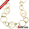 2017 New Fashion Ethnic Gold/Silver Plated Charms Long Chains Necklace Luxury Jewelry for Women K13432