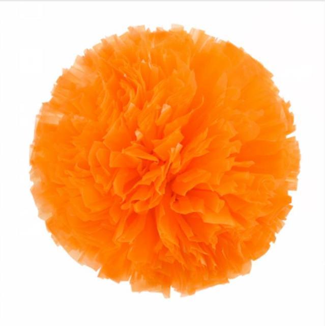 Orange Small cheer pom poms 5c64fbbde3f95