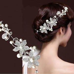 98d8c969109 bi er Women Jewelry Bridal Wedding Flower Headband