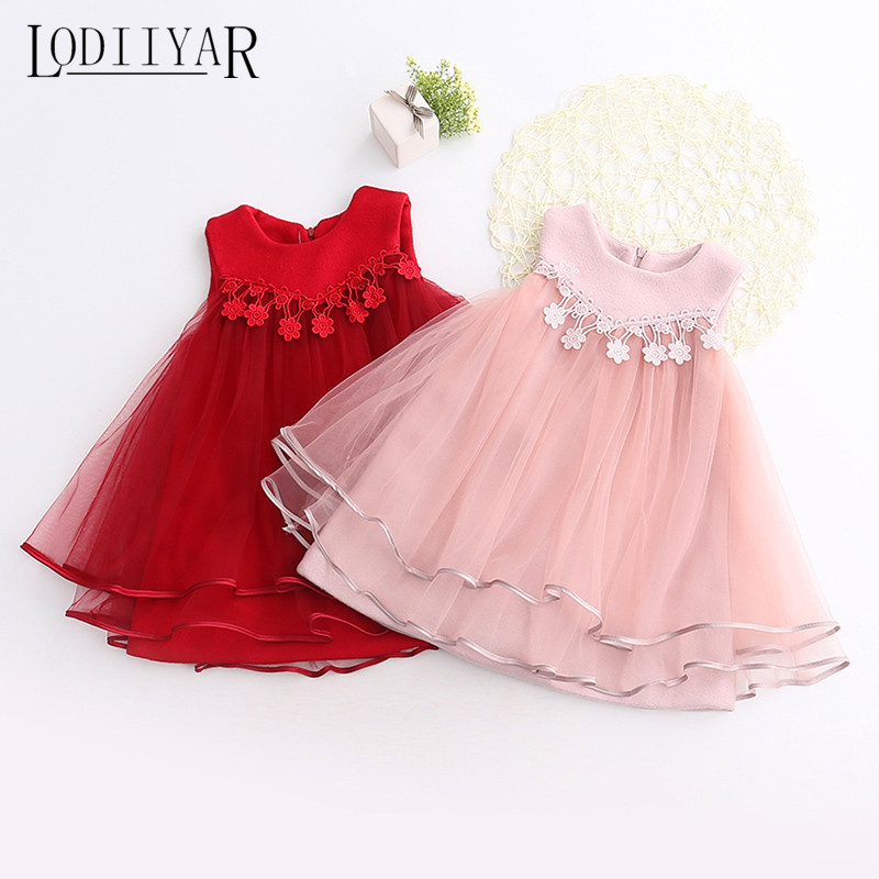 Подробнее о Girls Lace Dress England Style Flower Tutu Dresses For Girl Princess Birthday Party Dress Red Pink Ball Gown Kids Clothes Floral teenage girls dresses summer england style lace flower princess dress for girl wedding party prom costume kids clothes floral
