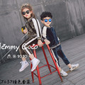 2016 new boys and girls in the spring suit  children's sports suit pants set of two set  free shipping