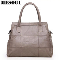 Brand Casual Tote Female Office Bag High Quality Crossbody Bags For Mom Birthday Gift Genuine Leather