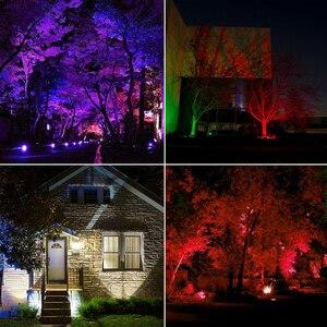Image 5 - Reflector de luz LED inteligente para exteriores, RGB, 15W, Bluetooth 4,0, Control por aplicación de 360 °, IP66, para jardín, resistente al agua, cambia de Color
