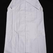 Унисекс белый хлопок 10000# Чистый хлопок Kendo брюки хакама Iaido Aikido наивысшего качества