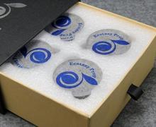 Altavoz de alta gama de 4 piezas con espigas de choque audiófilo con almohadilla de amortiguación de resorte con soporte de audio HIFI pad