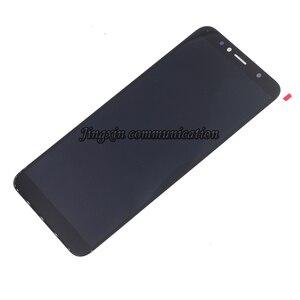Image 2 - Yeni ekran için Huawei Y6 başbakan 2018 ATU L11 L21 LCD ekran dokunmatik ekran digitizer aksesuarları Y6 2018 lcd çerçeve