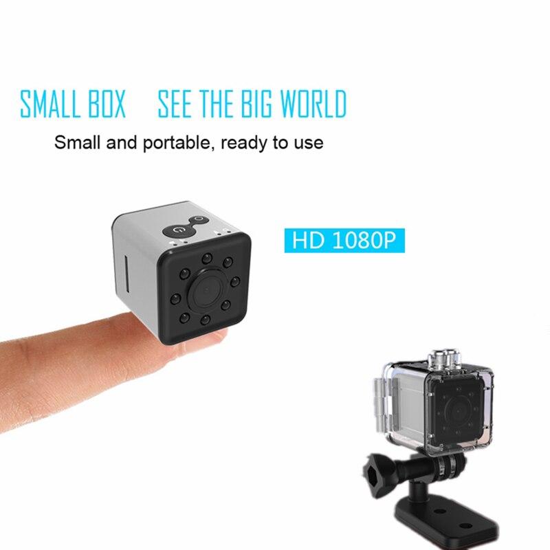SQ13 HD 1080 p Mini Kamera mit Wasserdicht Fall CMOS Dash Cam Nachtsicht DVR Sport DV Camcorder Recorder Micro kamera cpy Cam