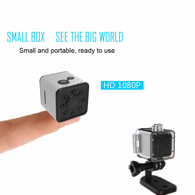 SQ13 HD 1080P Mini Camera with Waterproof Case CMOS Dash Cam Night Vision DVR Sport DV Camcorder Recorder Micro Camera cpy Cam