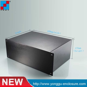 Провод соединитель 19 дюймов серверная стойка алюминий 4U шасси Инструмент Корпус заводская цена 482*178*320 мм