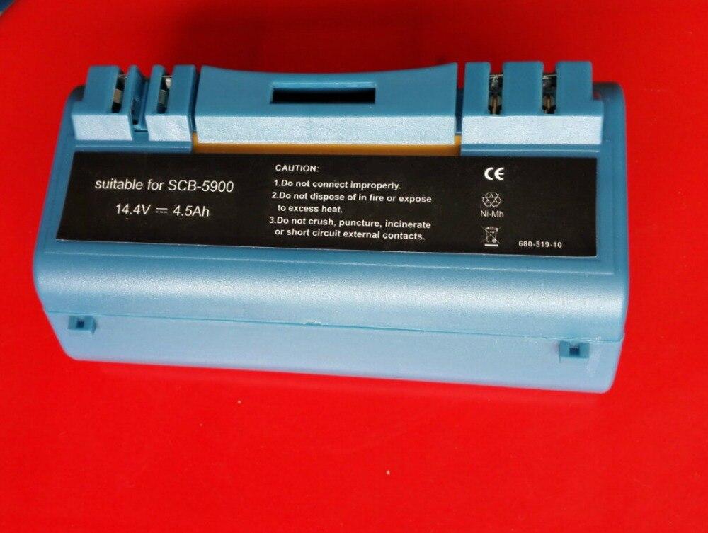 Nova 14.4 V 4500 mah Ni-Mh Substituição Bateria para iRobot Scooba Aspirador 330 340 350 380 385 390 5900 5800