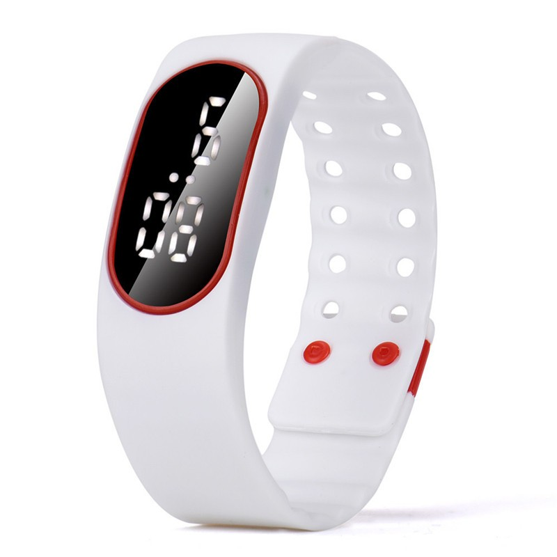 Unisex Lover Women Man Watches Boy Girl Gifts LED Sports Running Watch Date Casual Rubber Bracelet