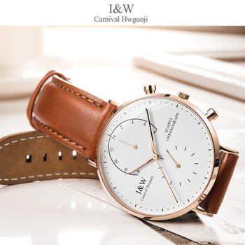 IW Modus Männer Uhr 2019 männer Quarz Sapphire Uhren Männlichen Uhr Top Marke Luxus Reloj Hombres Ledr quarz-uhr