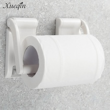 Сюэцинь free доставка кухня ванная комната пластиковые магнитный держатель для бумаги компактный рулон бумажных полотенец держатель хранения диспенсер