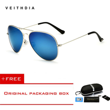 VEITHDIA Fashion aviation sunglass Polarized Sungla