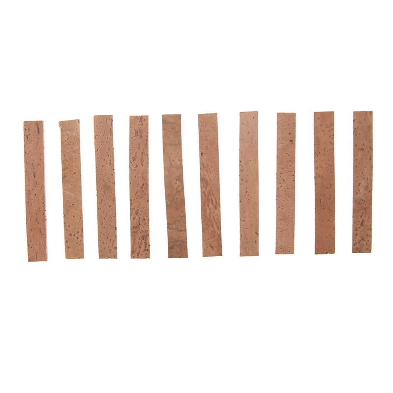 10pcs/Lot Bb Clarinet Joint Corks Musical Instruments Accessories 81 x 11 x 2 mm