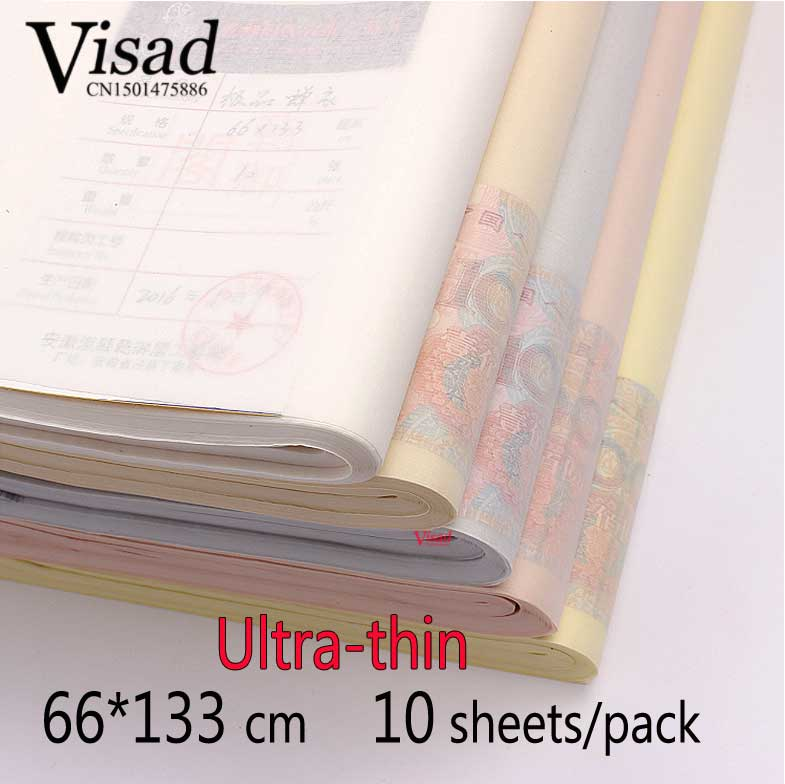 painting and calligraphy paper Ultra-thin tracing Rice Paper artist Xuan Paper painting supplies стоимость