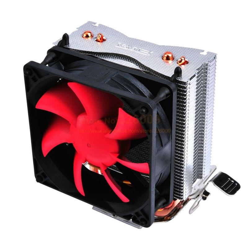 CPU Quiet Fan Cooling Heatsink Cooler Radiator For Intel LGA775//1155 AMD