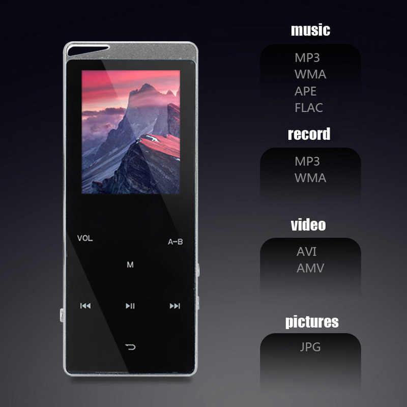 2019 マルチ言語音楽プレーヤー Bluetooth MP3 MP4 スピーカーサポート TF カード音声録音 FM ラジオタッチキー 40 4gb のビデオプレーヤー