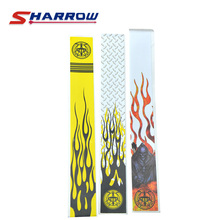 Sharrow 5 Pieces Archery Arrow Shaft Sticker For 8.3mm Shafts Skin Accessory Shooting