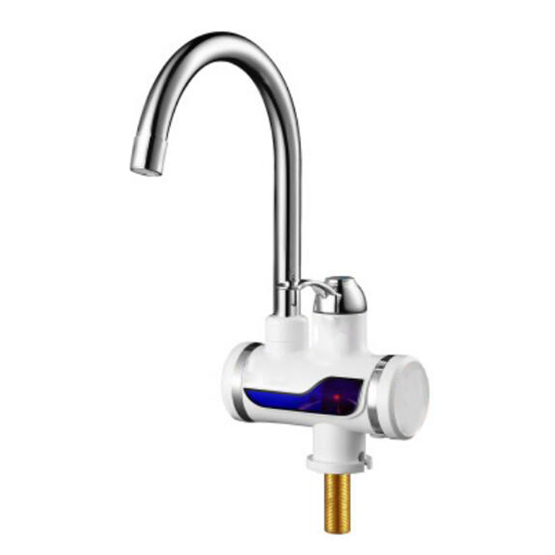 Rapid heating electric water heater faucet, namely hot