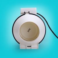 100mm circular pipe fan, 4 pipe exhaust fan for bathroom, 220V powerful mute axial flow fan, ventilator fan