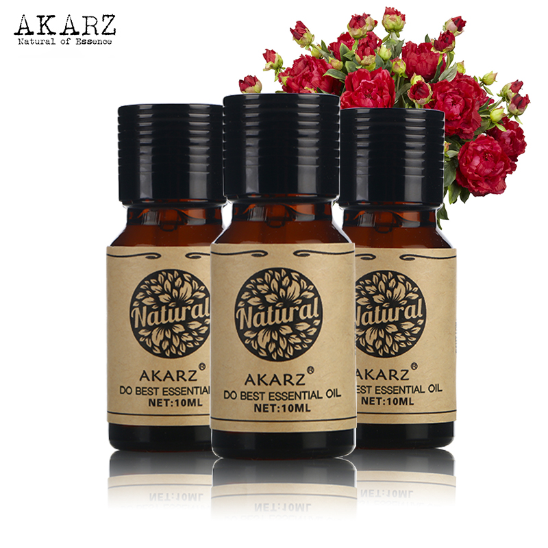 Lavender Patchouli Bergamot Essential Oil Sets AKARZ Famous Brand For Aromatherapy Massage Spa Bath Skin Face Care 10ml*3