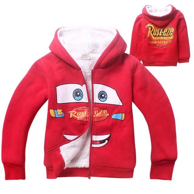2016 superventas el niño en la chaqueta de abrigo de invierno chaqueta de lana de coral algodón de doble chaqueta de niños boy cotton clothing
