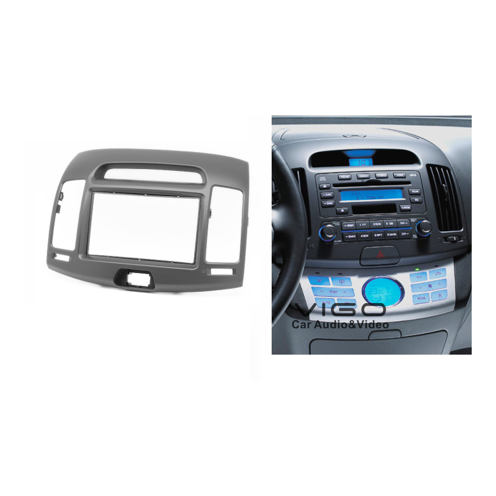 2 din Car Audio Radio Fascia Panel Adapter for Hyundai Elantra Avante 2006-2010