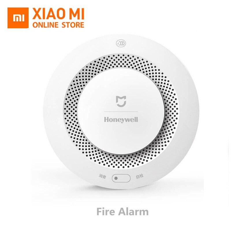 Xiaomi Mijia Honeywell Détecteur D'alarme Incendie, Aqara Zigbee Télécommande Alarme Sonore Et Visuelle Confirmation Par Travail avec Mihome APP