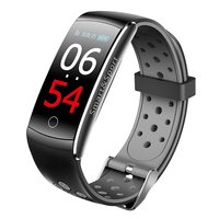 Q8 Смарт Браслет монитор сердечного ритма Фитнес трекер Bluetooth браслет IP68 Водонепроницаемый монитор спортивные Smartband для IOS и Android