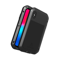 For iphone XS Max Case Waterproof Cover for iphone XS Max Aluminum Metal Shockproof Case For iphoneXS Max Full Protection Cover