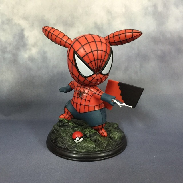 Spider-Pikachu Action Figure