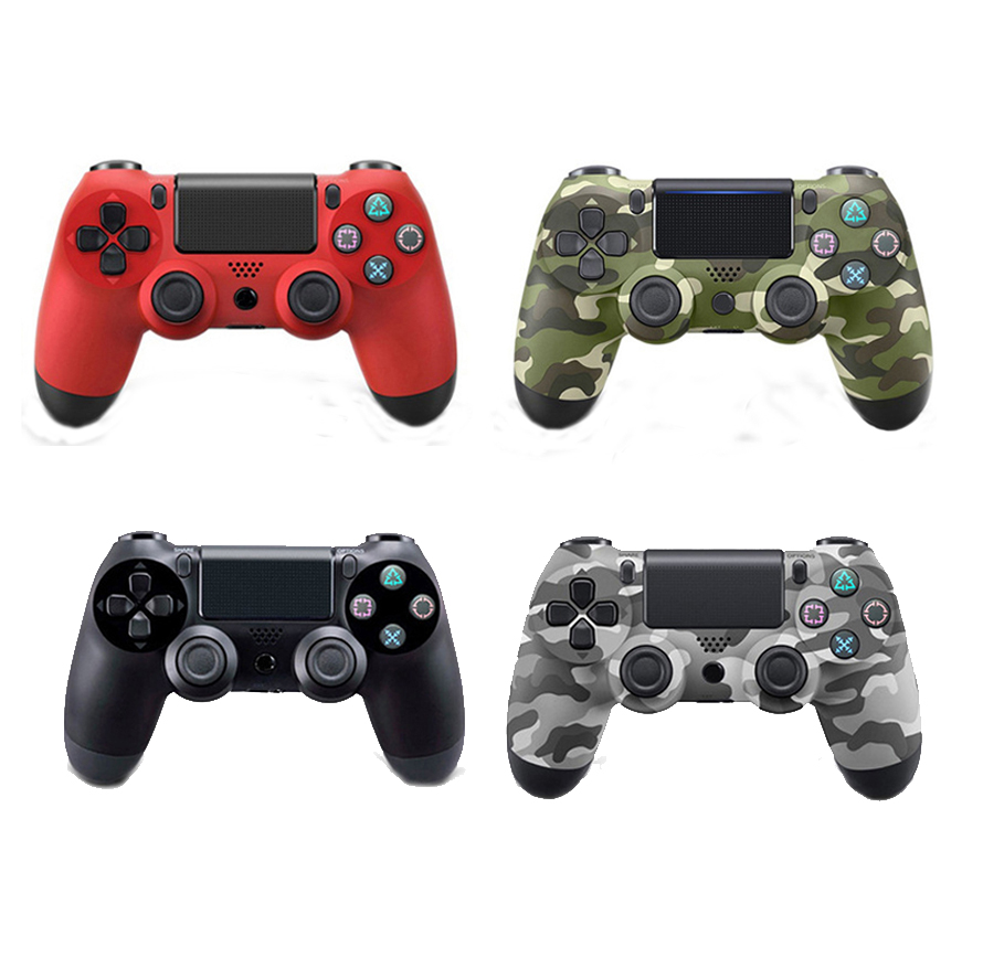 Bluetooth Wireless Gamepad Controller For PS4 Joystick Gamepads Controller For PlayStation 4 Dualshock 4 Game Joypad Speakers replacement housing case cover for xbox360 wireless controller joystick white