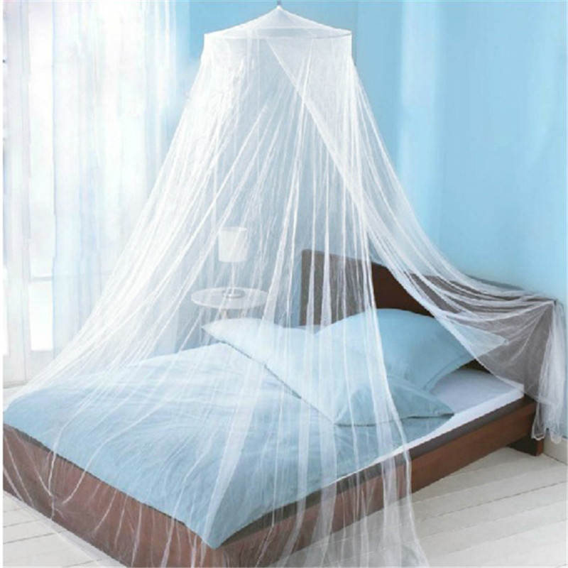 2017 Summer Style Romantic Round Lace Curtain Dome Bed Canopy Netting Princess Mosquito Net White Pink Brand New High Quality-in Mosquito Net from Home ... & 2017 Summer Style Romantic Round Lace Curtain Dome Bed Canopy ...