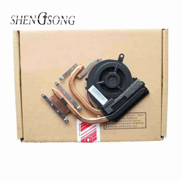 FREE SHIPPING New laptop fan for Lenovo Z370 Z370A with heatsink Cooling fan KSB05105HC brand new for sony vpc sa sd sr sb cpu fan with heatsink 300 0101 1831 free shipping