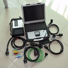 mb diagnostic interface star c5 with laptop cf30 ram 4g with software super ssd full set diagnostic for cars and trucks