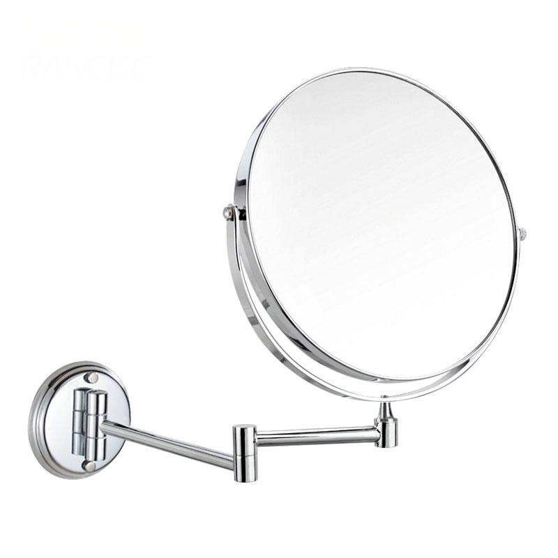 Stainless Steel Wall Mirror Folding Wall Mirror Double Faced Retractable  Makeup Mirror Bathroom Mirror In Makeup Mirrors From Beauty U0026 Health On ...