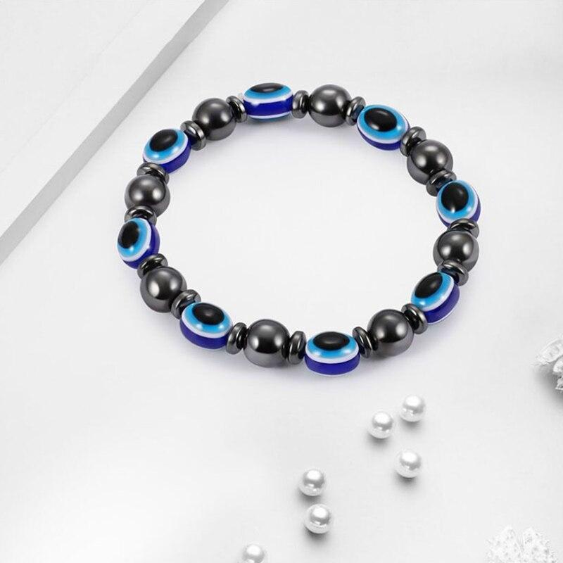 Браслет для похудения магнитный браслет Femme женский Красота магнит Здоровье Браслет Evil Eye для похудения мужчин